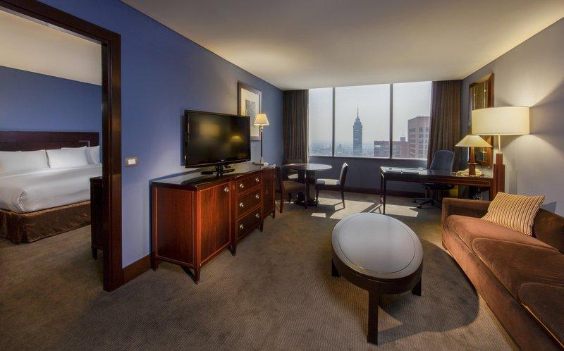 Hilton Mexico City Reforma 客房视图