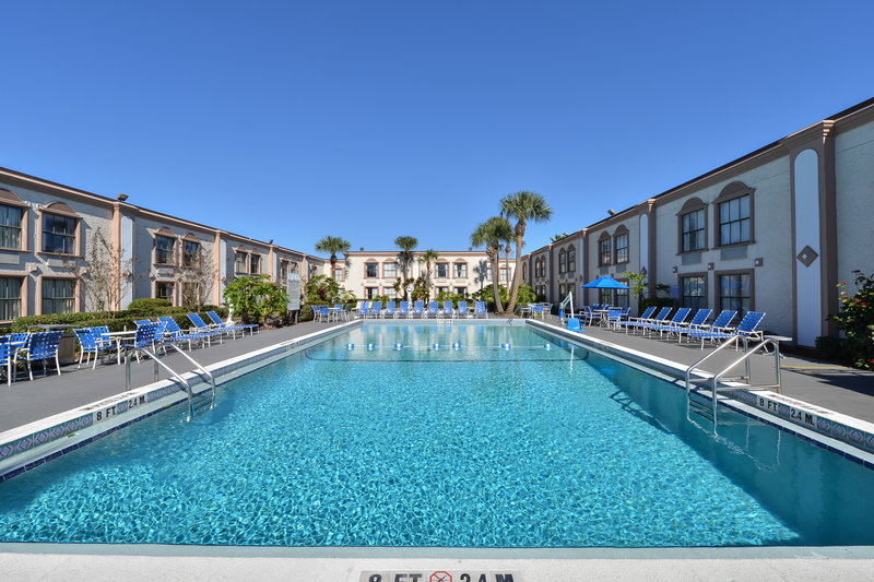 La Quinta Inn Orlando International Drive North Billede af pool