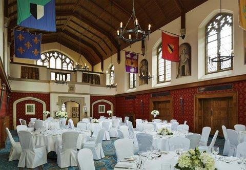 Hanbury Manor Marriott Hotel & Country Club - Poles Hall   Banquet Setup