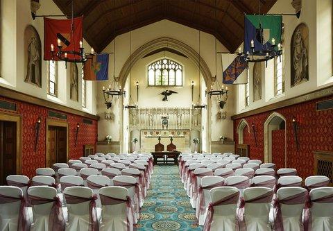 Hanbury Manor Marriott Hotel & Country Club - Poles Hall   Wedding Ceremony