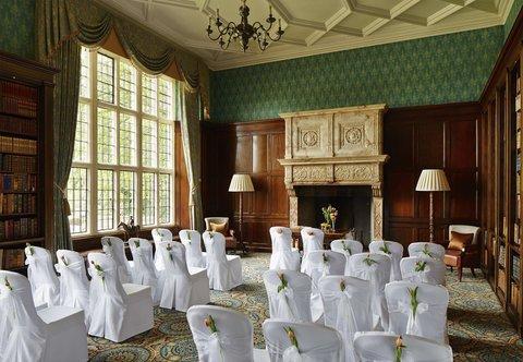 Hanbury Manor Marriott Hotel & Country Club - Library   Wedding Ceremony