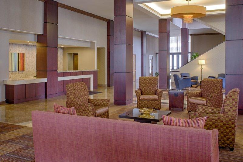 Crowne Plaza Hotel  Dayton Lobby