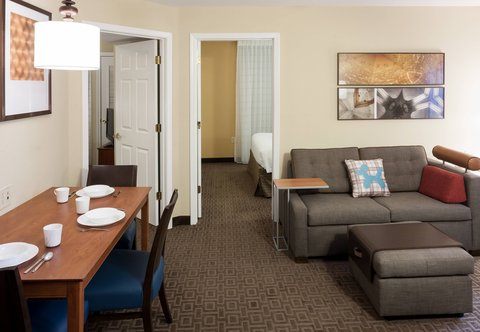 TownePlace Suites Dallas Las Colinas - Two-Bedroom Suite - Living Area