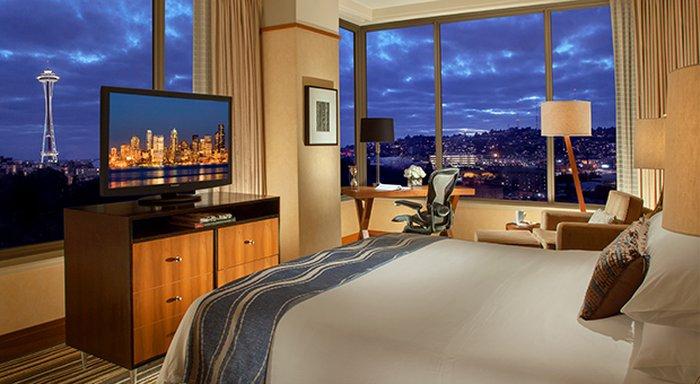 Pan Pacific Seattle 客房视图