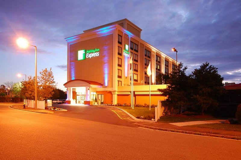 Holiday Inn Express Boston Pohled zvenku