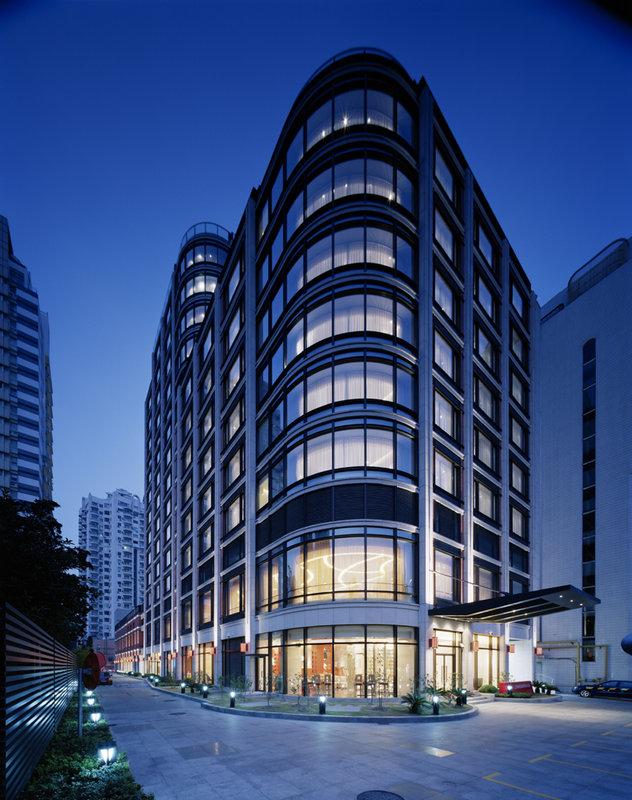 Crowne Plaza Hotel Shanghai Ulkonäkymä