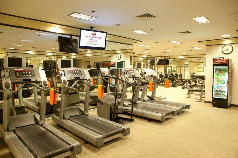 Crowne Plaza Hotel Shanghai Fitneszklub