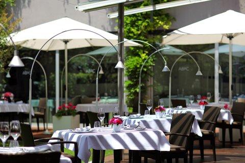 阿布奥西餐厅酒店 - Restaurant Terrace