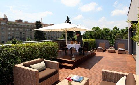 阿布奥西餐厅酒店 - Penthouse Suite terrace