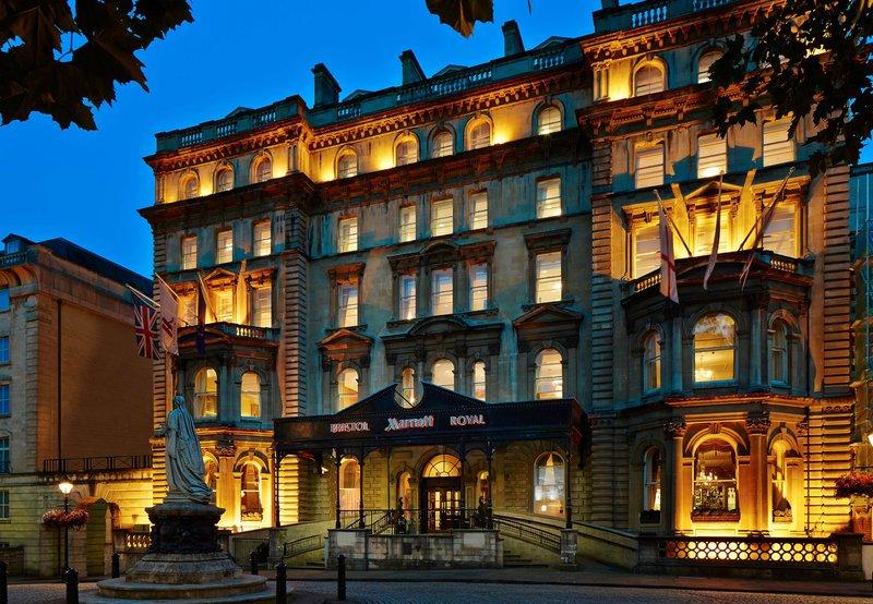 Marriott Bristol Royal Hotel Kilátás a szabadba