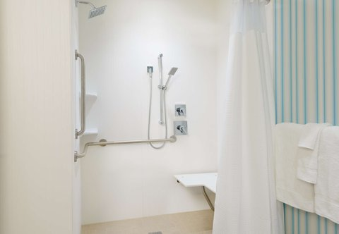 Courtyard Buffalo Downtown/Canalside - Accessible Guest Bathroom - Shower