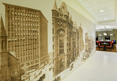 Courtyard Buffalo Downtown/Canalside - Hotel Artwork