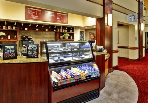 Columbus Airport Marriott - Marriott Greatroom - Coffee Bar