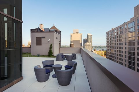 Homewood Suites by Hilton New York Midtown Manhattan Times Square South NY - Rooftop Outdoor Space