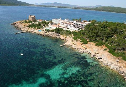 Hotel El Faro - Aereal view
