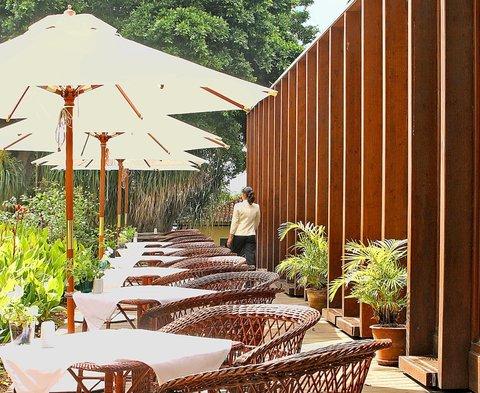 Quinta da Casa Branca - Garden Pavilion Restaurant Terrace