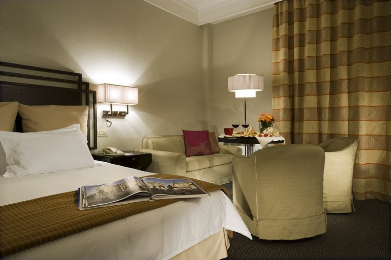 Crowne Plaza Hotel Rome - St. Peter's Szobakilátás