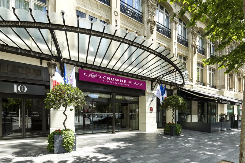 Crowne Plaza Hotel Paris-Republique Außenansicht