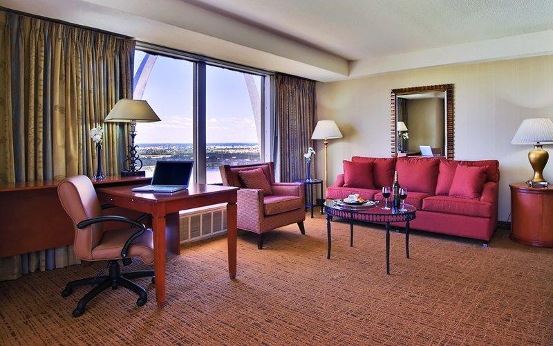 Crowne Plaza Hotel St. Louis - Downtown Szobakilátás