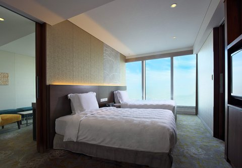 فندق أوساكا ماريوت مياكو - Junior Suite   Sleeping Area