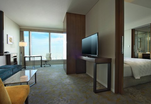 فندق أوساكا ماريوت مياكو - Junior Suite - Living Area