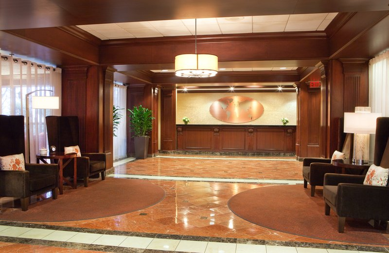 Crowne Plaza Hotel Atlanta Airport Вестибюль