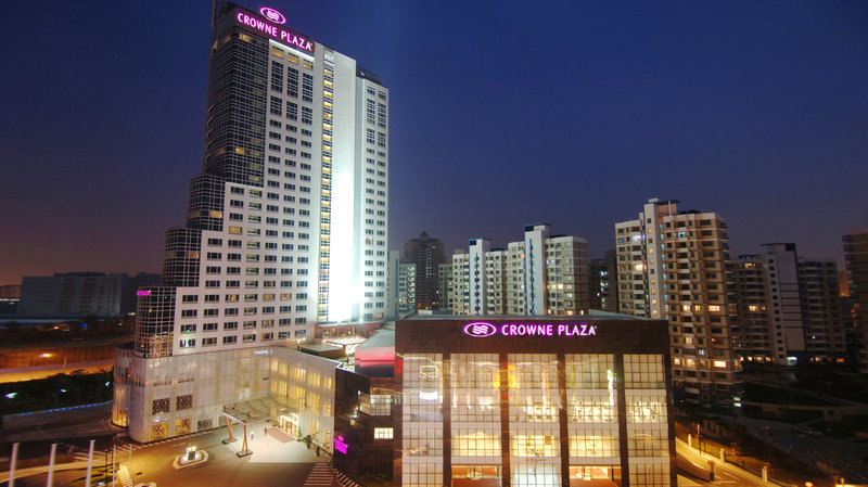 Crowne Plaza Hotel Shanghai Pudong Fasad