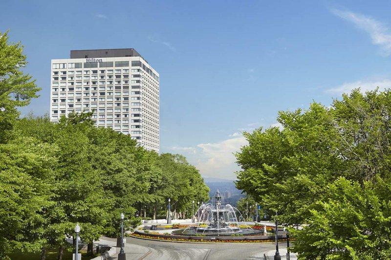 Hilton Quebec Außenansicht