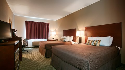 BEST WESTERN Big Spring Lodge - Two Queen Guest Room