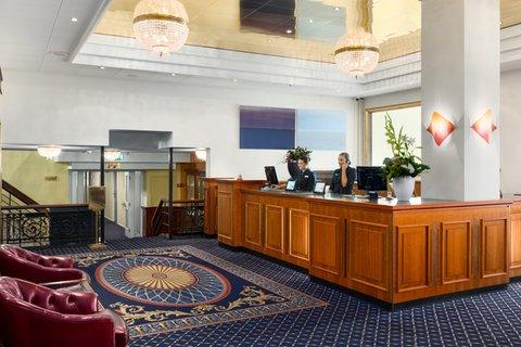 NH Atlantic Den Haag - Lobby reception