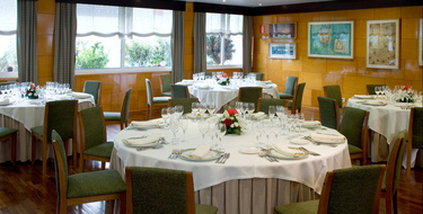NH La Coruna Atlantico - restaurant