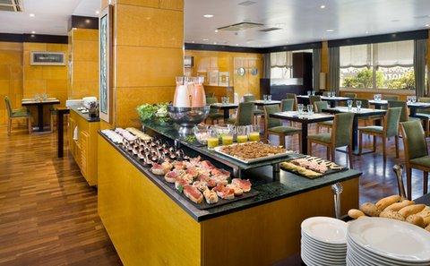 NH La Coruna Atlantico - Buffet breakfast