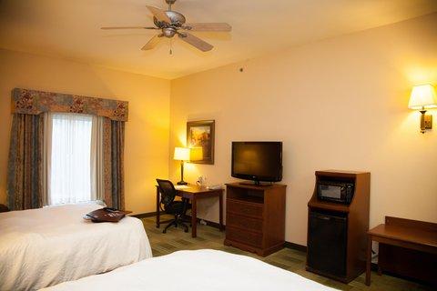 Hampton Inn Brownwood - Double Bedroom
