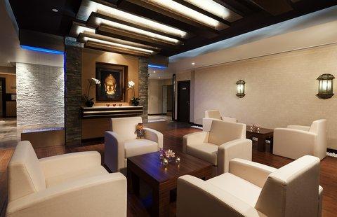 Warwick Hotel Dubai - O2 Spa Lounge Area