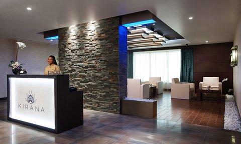 Warwick Hotel Dubai - O2 Spa Reception