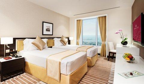 Warwick Hotel Dubai - Penthouse Bedroom Suite Twin Room