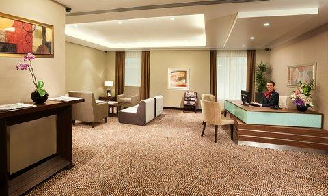 Warwick Hotel Dubai - Warwick Club Lounge Reception
