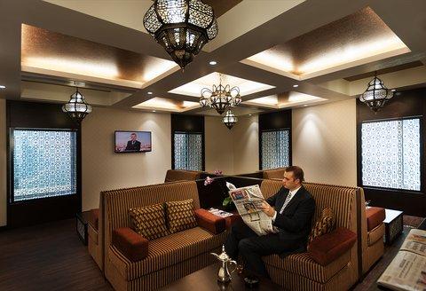 Warwick Hotel Dubai - Warwick Club Lounge