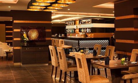 Warwick Hotel Dubai - World On Dining Area