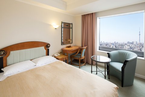 Hotel East 21 Tokyo - Semi-Double with view