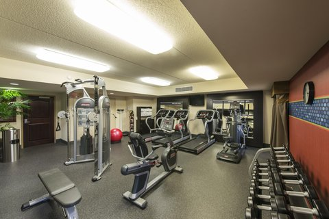 Hampton Inn - Suites Albany-Downtown - Fitness Center
