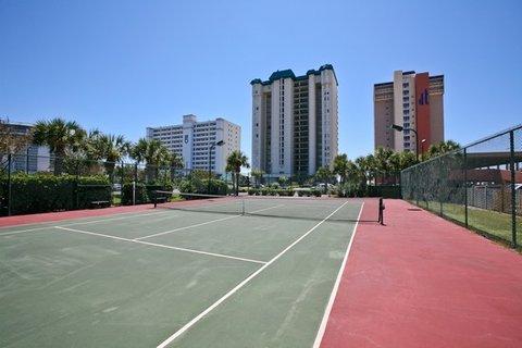 Jade East Condominiums by Wyndham Vacation Rentals - Tennis Courts