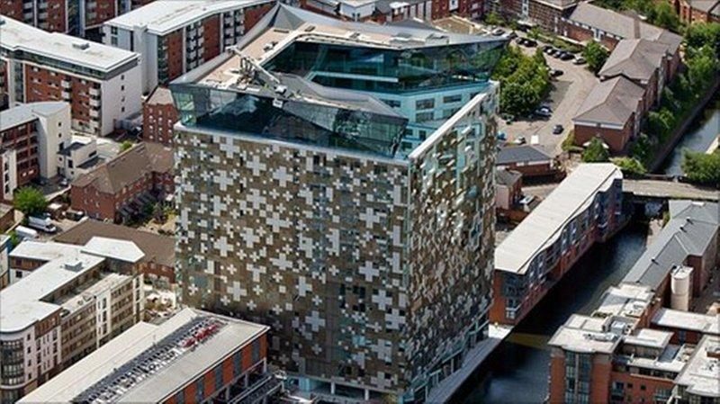 Hotel Indigo Birmingham Pohled zvenku