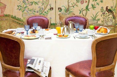 Urso Hotel and Spa - Breakfast
