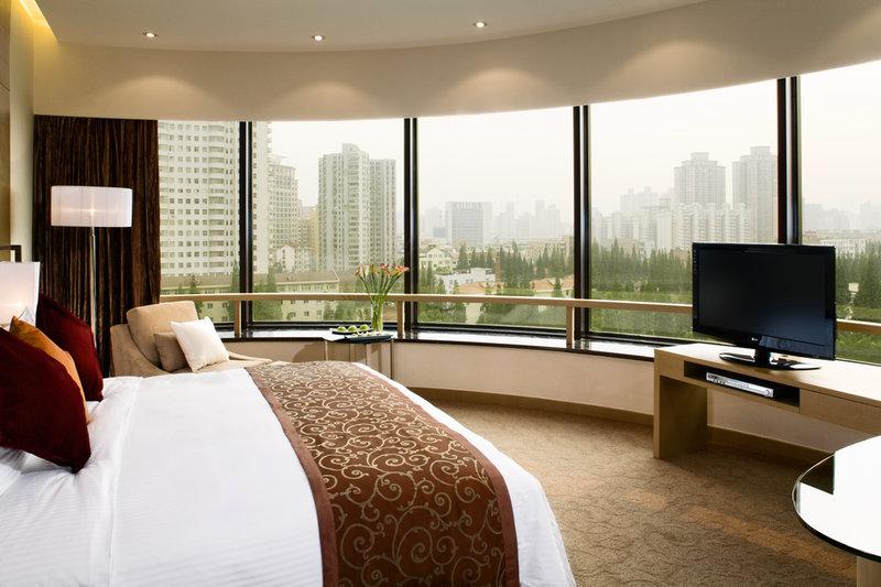 Crowne Plaza Hotel Shanghai Szobakilátás