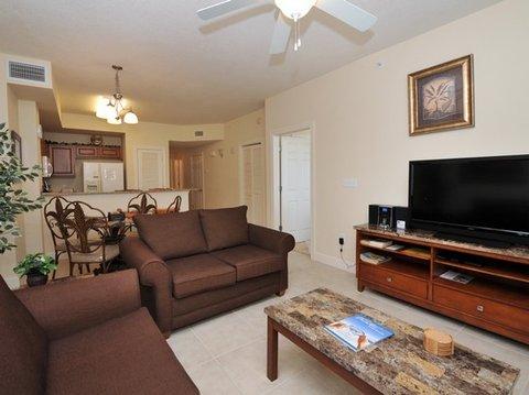 ResortQuest Rentals at Sunrise Beach Resort - living room