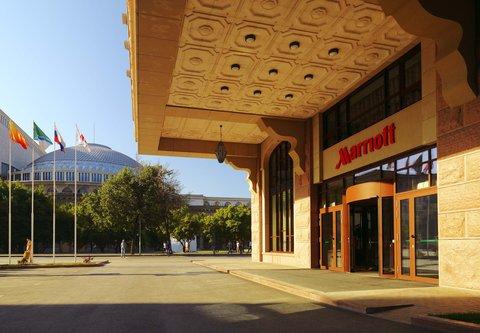 Novosibirsk Marriott Hotel - Entrance