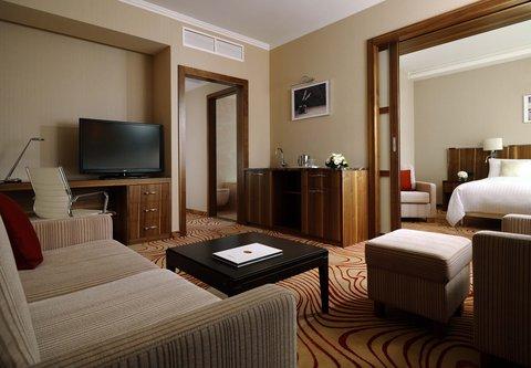 Novosibirsk Marriott Hotel - Suite Living Room