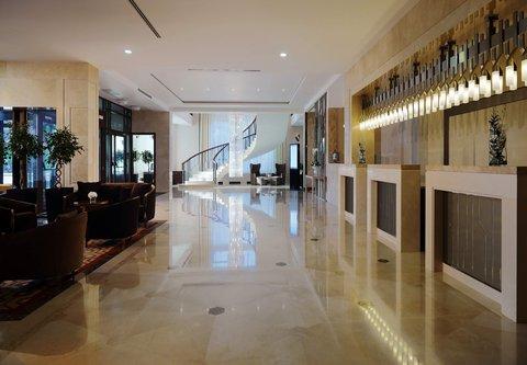 Novosibirsk Marriott Hotel - Lobby
