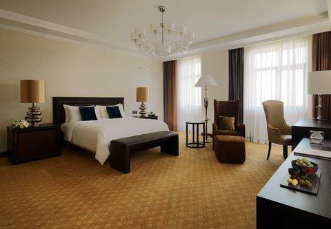Novosibirsk Marriott Hotel - Presidential Suite Bedroom